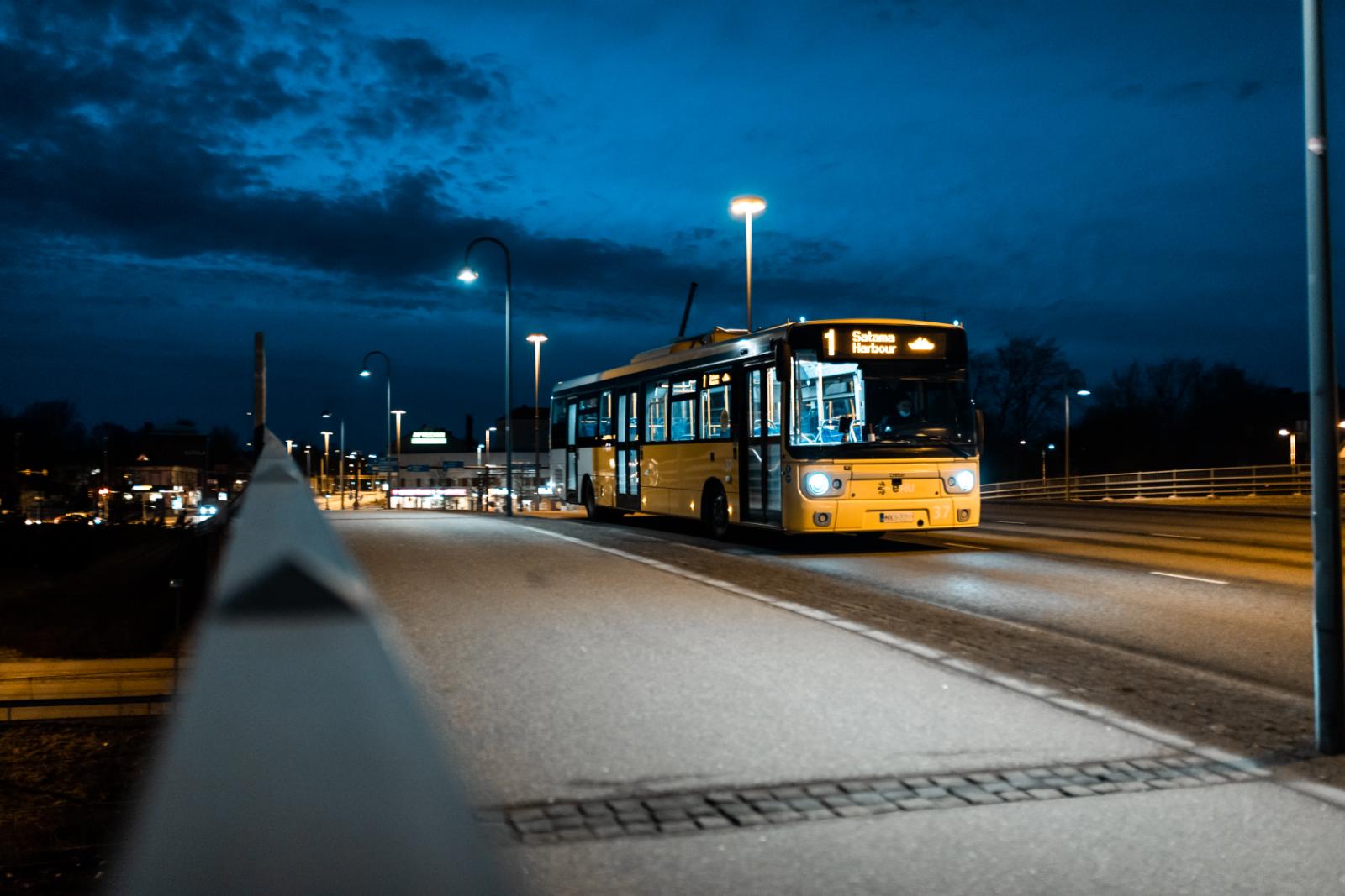 Yöliikenne palaa normaaliksi 4.6.2021